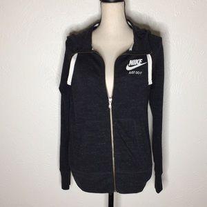 Nike Black Medium Zip Up Sweatshirt